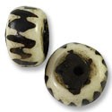 Bone Bead Rondelle 22-27mm (3-Pcs)