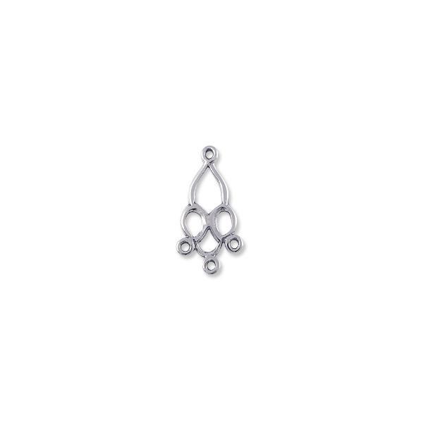 Chandelier earring 21x11mm sterling silver earring findings online 21x11mm sterling silver chandelier earring aloadofball Images