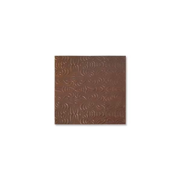 Copper Sheet Lillypilly Wisp Embossed Antique Bronze