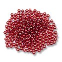Preciosa Czech Seed Bead 6/0 Silver Lined Ruby (10 Grams)