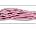 Leather Cord Rose 2mm (Priced per Yard)