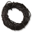 Leather Cord 1mm Dark Brown (30 Foot Pack)