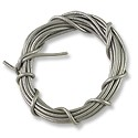 Leather Cord 1mm Silver (5 Foot Pack)