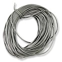 Leather Cord 1mm Silver (30 Foot Pack)