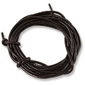 Leather Cord 2mm Dark Brown (5 Foot Pack)