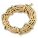 Leather Cord 2mm Natural (5 Foot Pack)
