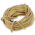 Leather Cord 2mm Natural (15 Foot Pack)