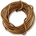 Leather Cord 2mm Copper (15 Foot Pack)