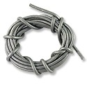 Leather Cord 2mm Silver (5 Foot Pack)