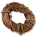 Leather Cord 2mm Copper (30 Foot Pack)