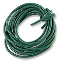 Leather Cord 2mm Jade Green (5 Foot Pack)