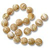 "Mother of Pearl Round Bead 8mm Natural (16"" Strand)"