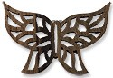 Pendant - Wood Butterfly 70x47mm