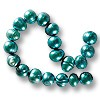 Freshwater Potato Pearl Teal Blue 8-8.5mm (16