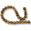 Freshwater Potato Pearl Antique Bronze Mix 8-9mm (16