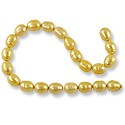 Freshwater Rice Pearls Buttercup 7-8mm (16