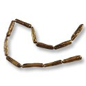 Freshwater Stick Pearls Golden Brown 20-25mm (16
