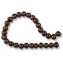"Freshwater Potato Pearls Autumn Brown 6-7mm (16"" Strand)"