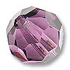 Swarovski 5000 10mm Amethyst Round Bead (1-Pc)