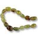 "Rutilated Quartz Nugget Beads 12-16mm (16"" Strand)"