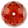 Swarovski Briolette Bead 5040 18x11.5mm Crystal Red Magma (1-Pc)