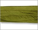 Silk Ribbon Olive Green
