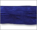Silk Ribbon Indigo Blue