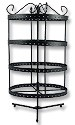 Revolving Earring Jewelry Display Rack (Holds 96 Pairs)