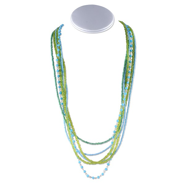 Peridot Waves Necklace Project