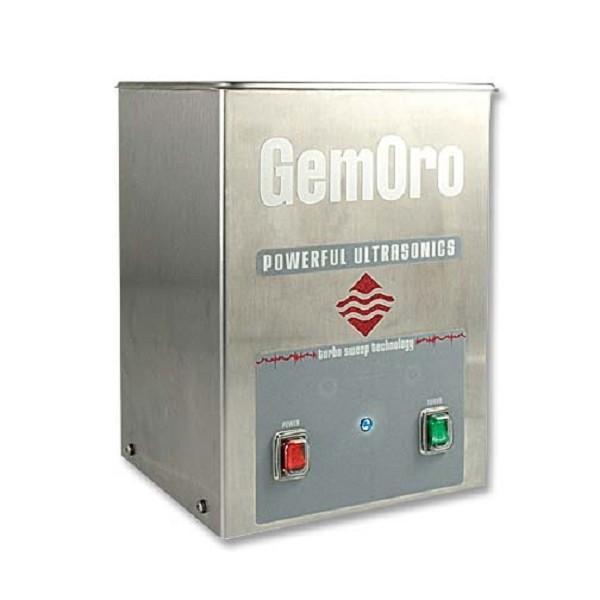 Gemoro 1 quart stainless steel ultrasonic jewelry cleaner for Stainless steel jewelry cleaner