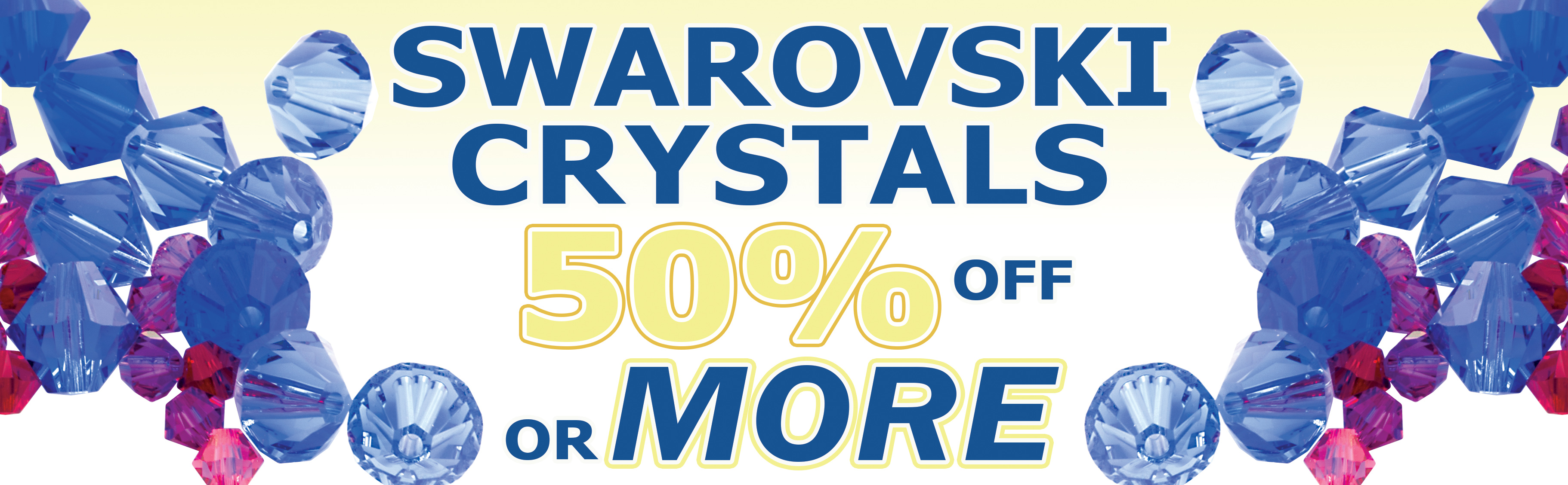 All SWAROVSKI 50% OFF OR MORE