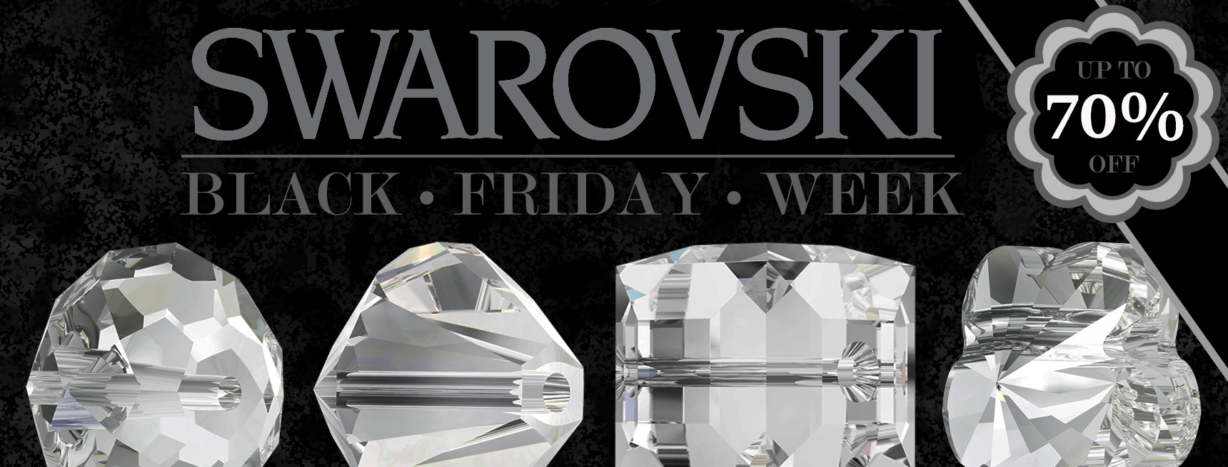 Up to 70% Off All Swarovski Crystals - Black Friday Sale