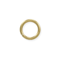 5.8mm 14k Yellow Gold Round Open Jump Ring (1-Pc)