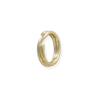 6.5mm 14k Yellow Gold Split Ring (1-Pc)