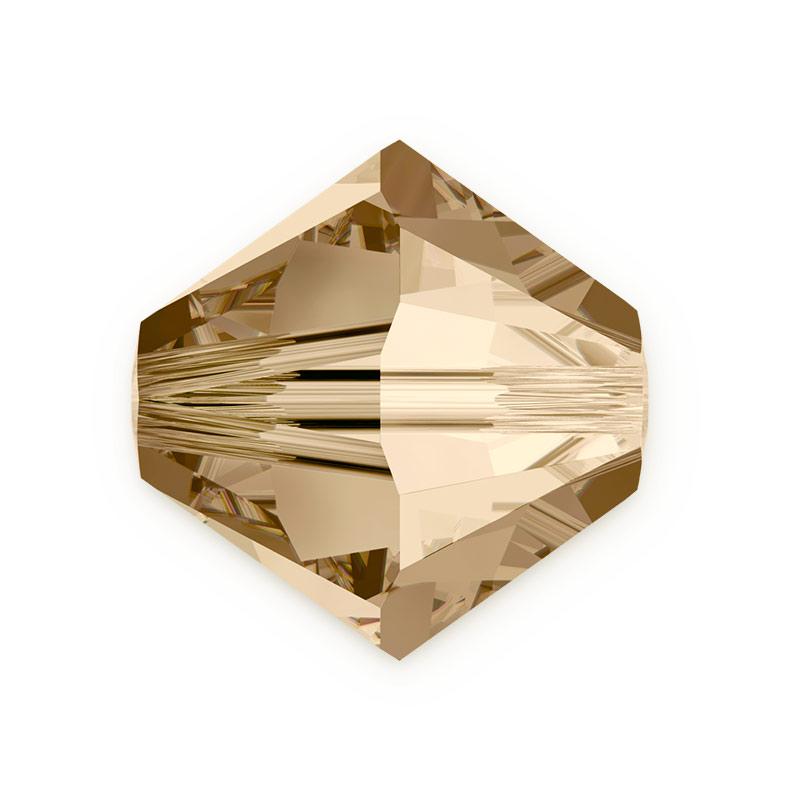 fd53ad9999 All Swarovski Elements 50% Off - Swarovski Crystals 5328 4mm Crystal Golden  Shadow Bicone Bead