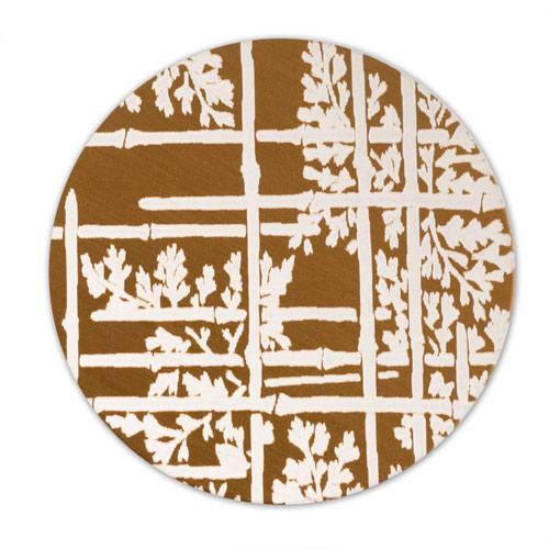 lillypilly aluminum blank round 1 bamboo bronze 22ga