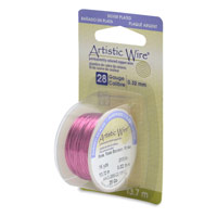 Artistic Wire 28ga Silver Plated Rose (15 Yards)