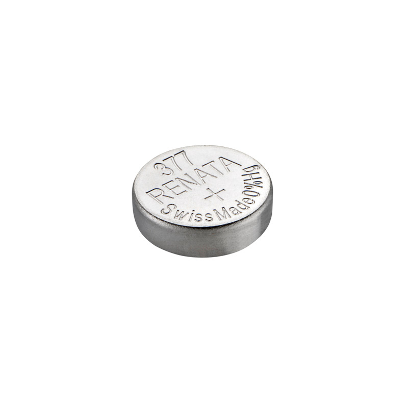 Renata watch battery 377 for Waschbatterie