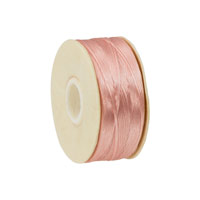 Nymo Nylon Thread Dark Pink Size D (58.5 Meters)
