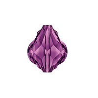 Swarovski Crystal 5058 10mm Amethyst Baroque Bead (1-Pc)