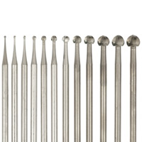 Round Bur Assortment 12pc Set