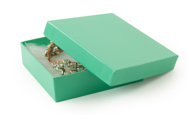 Teal Paper Jewelry Box 33 jewellery box online shopping