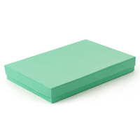 Teal Paper Jewelry Box #75