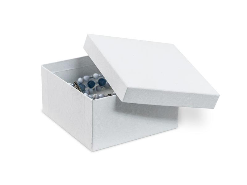 Swirl Cotton Filled Jewelry Box 34 Each
