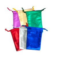 Assorted Metallic Pouches 3x4 (Dozen)