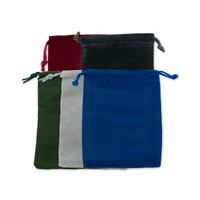 Velvet Drawstring Pouch Assortment 3x4 (10-Pcs)