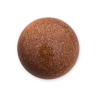 Goldstone Round Cabochon 20mm Synthetic