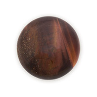 Red Tiger Eye Round Cabochon 20mm