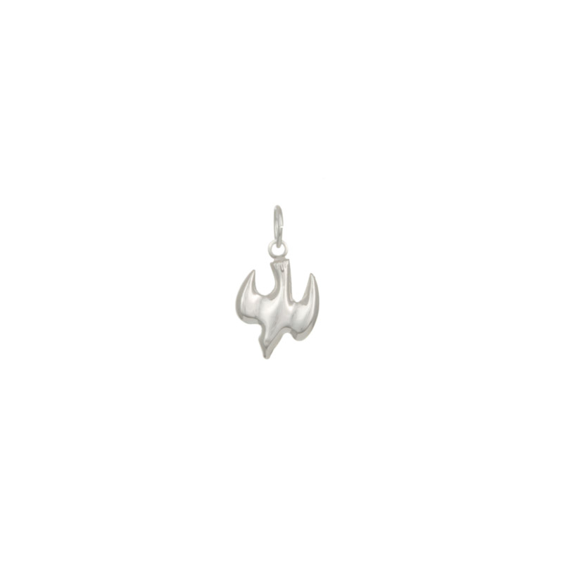 Dove jewelry charm 11x9mm sterling silver wholesale jewelry dove charm 11x9mm sterling silver aloadofball Choice Image