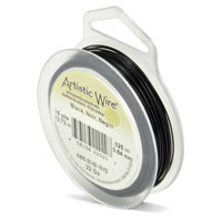 Artistic Wire 22ga Black (15 Yards)